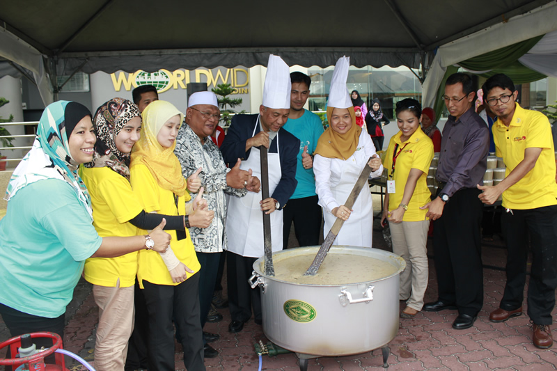 Program Memasak Bubur Lambok 2014 10.7.14
